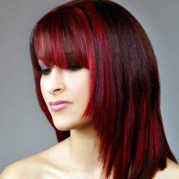 Hair Color Rebonding Smoothing Perming Kertain